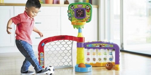 Little Tikes 3-in-1 Sports Zone Just $25 at Walmart.com (Regularly $49)