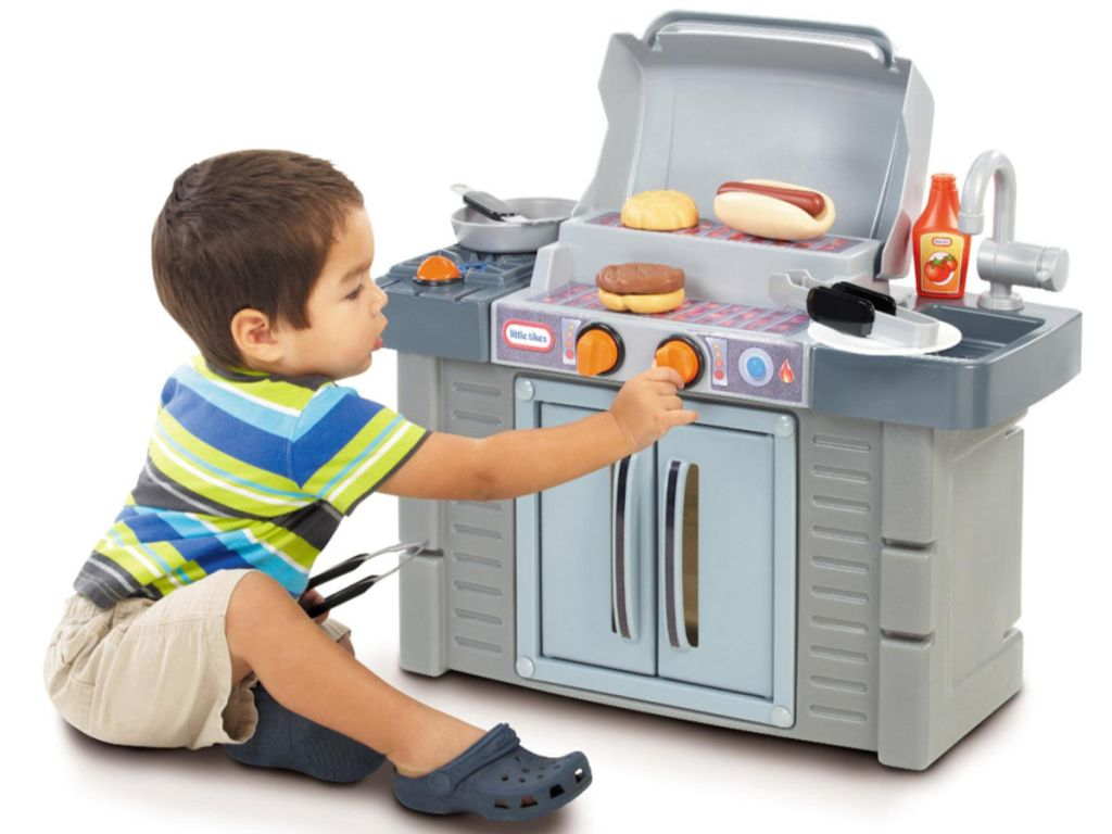 Little Tikes Cook n Grow BBQ Set Toddler Size