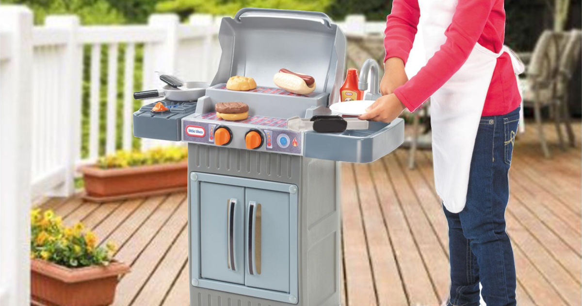 Little Tikes Cook \'n Grow BBQ Grill Only $24.98 at Walmart ...