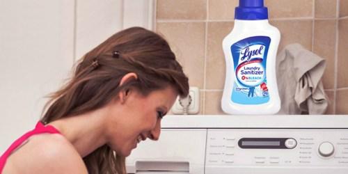 Lysol Laundry Sanitizer BIG 90oz Bottle Just $6 Shipped at Amazon