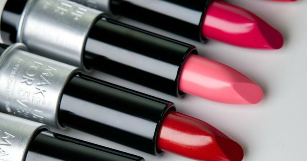 various colors of Make Up For Ever Artist Rouge Lipstick
