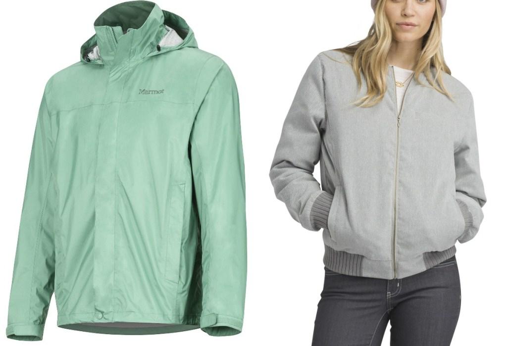 Marmot or Prana Coats