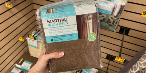 Martha Stewart Living Curtain Panels Possibly Only $1 at Home Depot (Regularly $20+)
