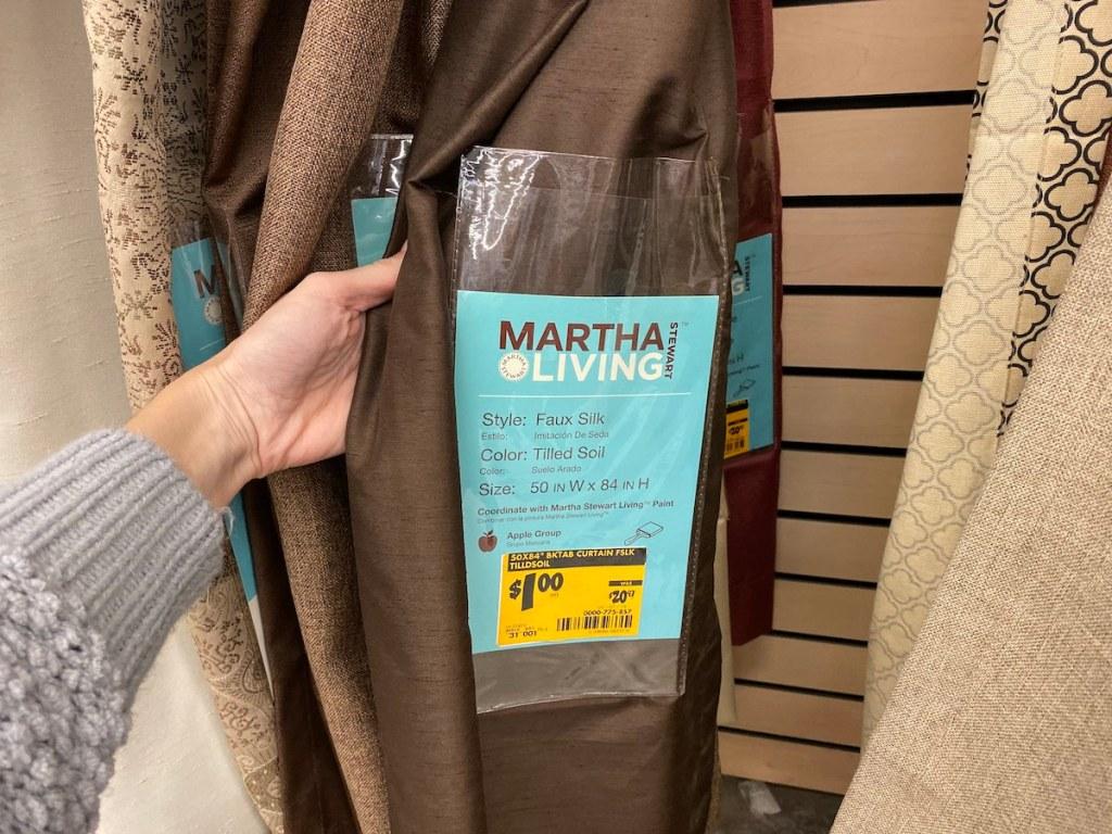 Martha Living Faux Silk