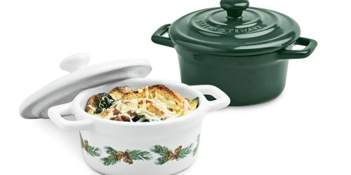 Up to 65% Off Martha Stewart Mini Holiday Dutch Oven Sets at Macy's
