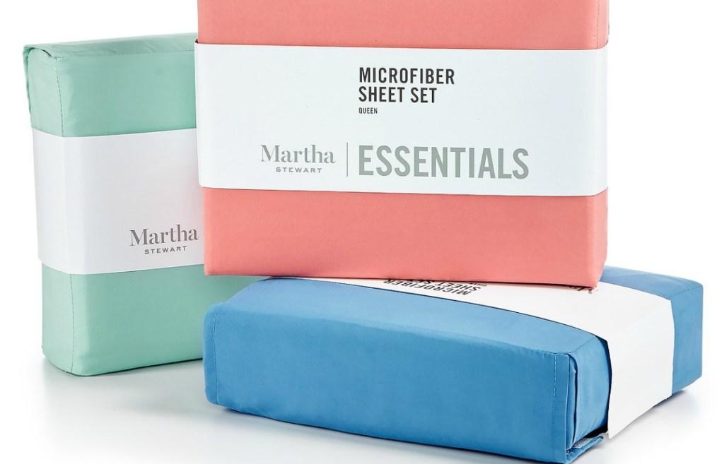 Martha Stewart Microfiber Sheet Sets