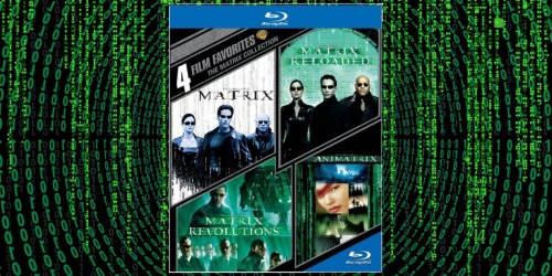 Matrix Blu-Ray Collection Only $10.66 on Amazon + More
