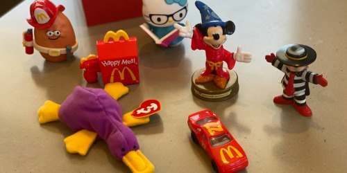 McDonald's Throwback Toys Now In Happy Meals | Ends 11/11