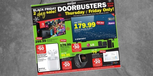 Meijer Black Friday 2019 Ad is Here |  50% Off Board Games & More