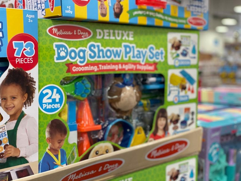 Melissa & Doug 24-piece Deluxe Dog Show Play Set