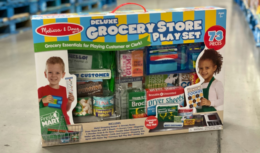 Melissa & Doug 73-piece Deluxe Grocery Store Set