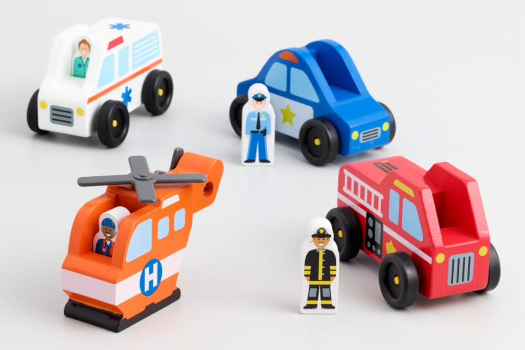Melissa & Doug Emergency Vehicles Set