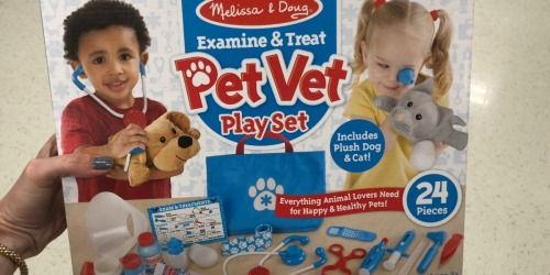 Melissa & Doug Examine & Treat Pet Vet Playset Only $11.99 at JOANN (Regularly $30) + More
