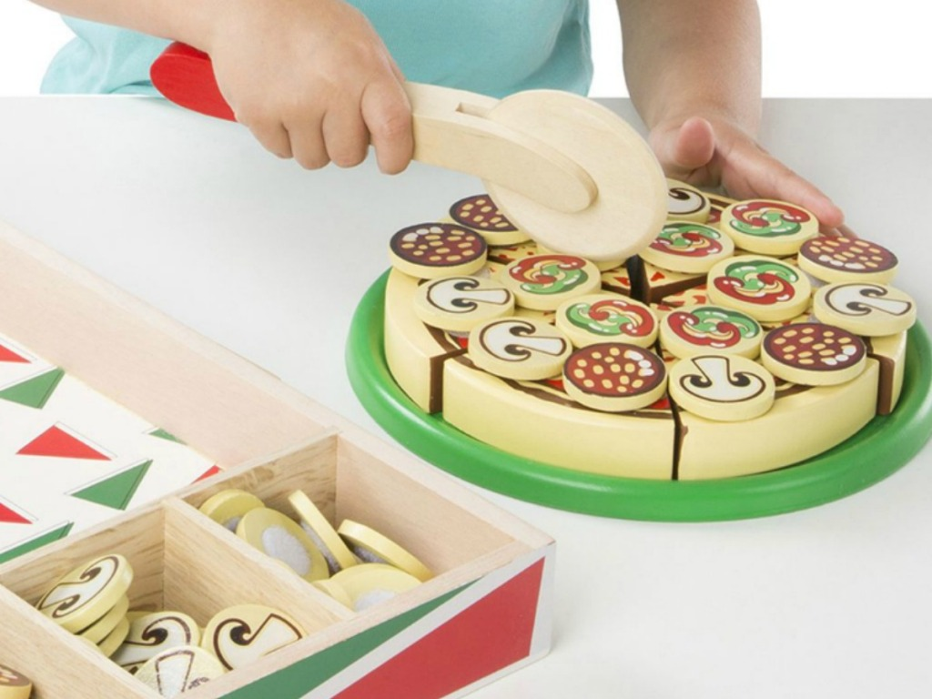 Melissa & Doug Pizza . Set