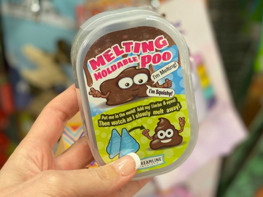 Small package of poo putty craft kit