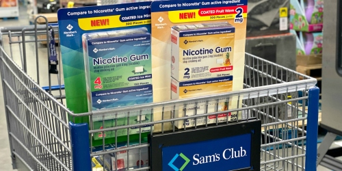 Buy Member's Mark Nicotine Gum at Sam's Club & Get $10 Cash Back from Ibotta