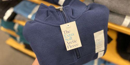 Croft & Barrow Men's Arctic Fleece Quarter-Zip Sweaters Only $8.49 at Kohl's (Regularly $30)