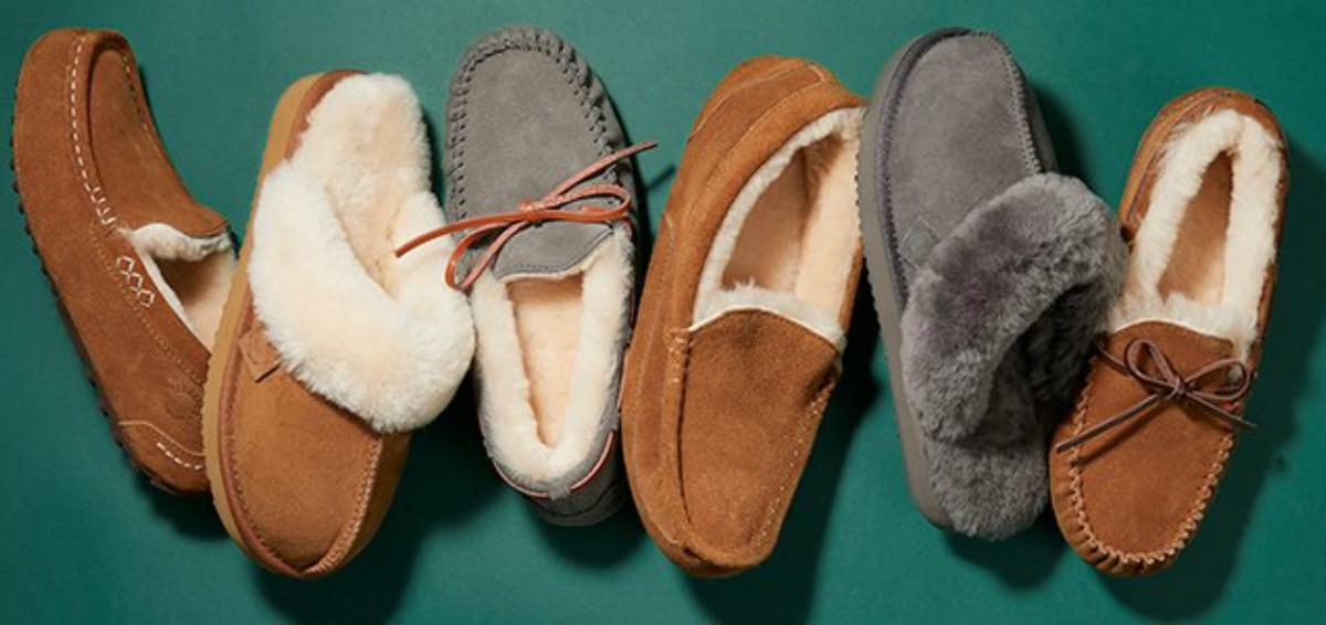 Men's Dearfoam Slippers in six styles