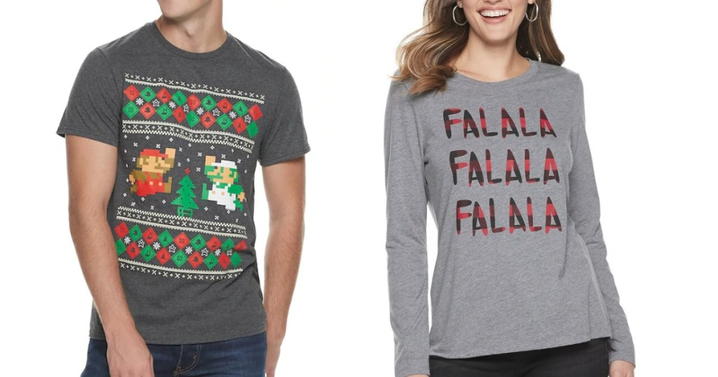 Men's Graphic Holiday tees