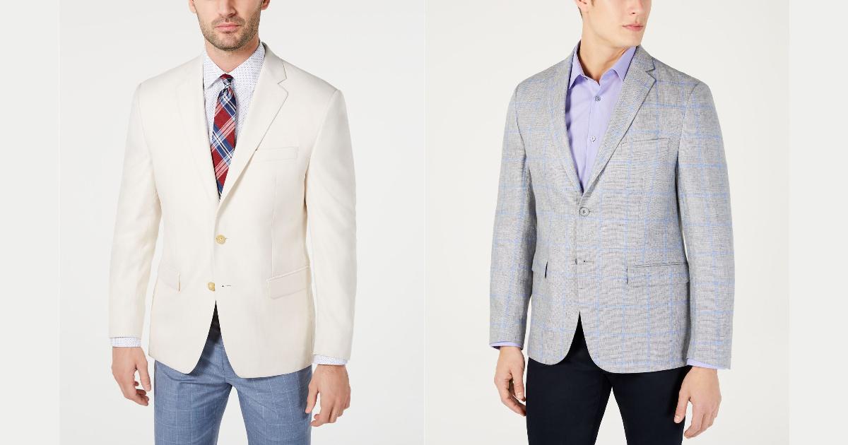 two men wearing ralph lauren suit jackets