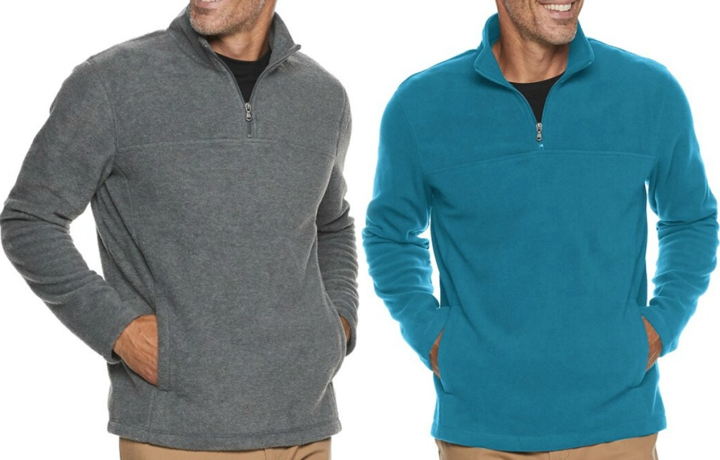 Men's Zip Up Shirt from Kohl's in two colors