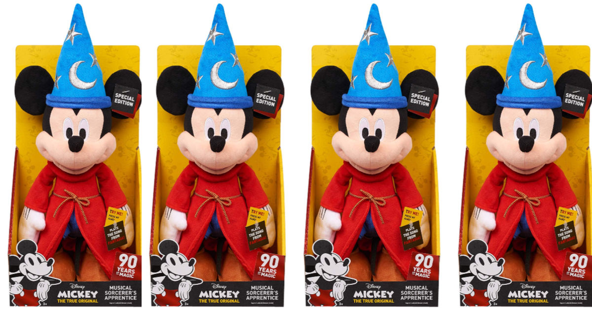Mickey Mouse Sorcerer's Plush