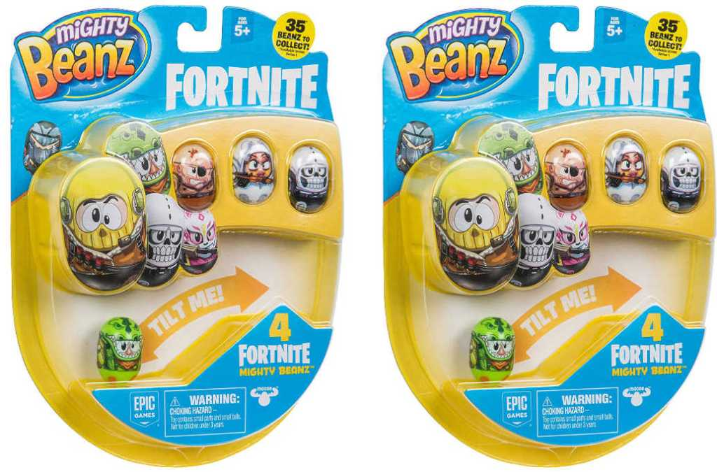 Mighty Beanz Fortnite 2 Pack - 8 Total Beanz