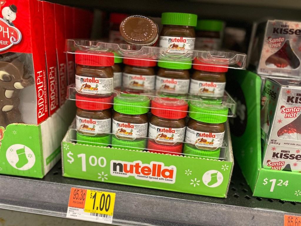 Mini Nutella at Walmart