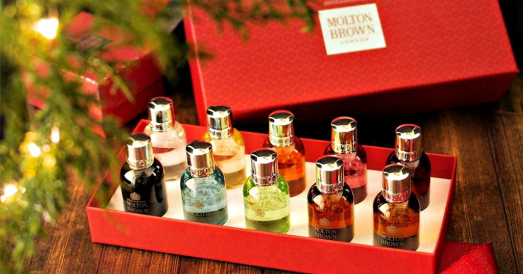 Molton Brown 10-Piece Body Wash Set