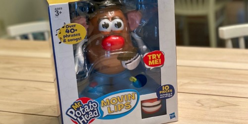 We Tested Out the New Movin' Lips Mr. Potato Head Toy & LOVED It!