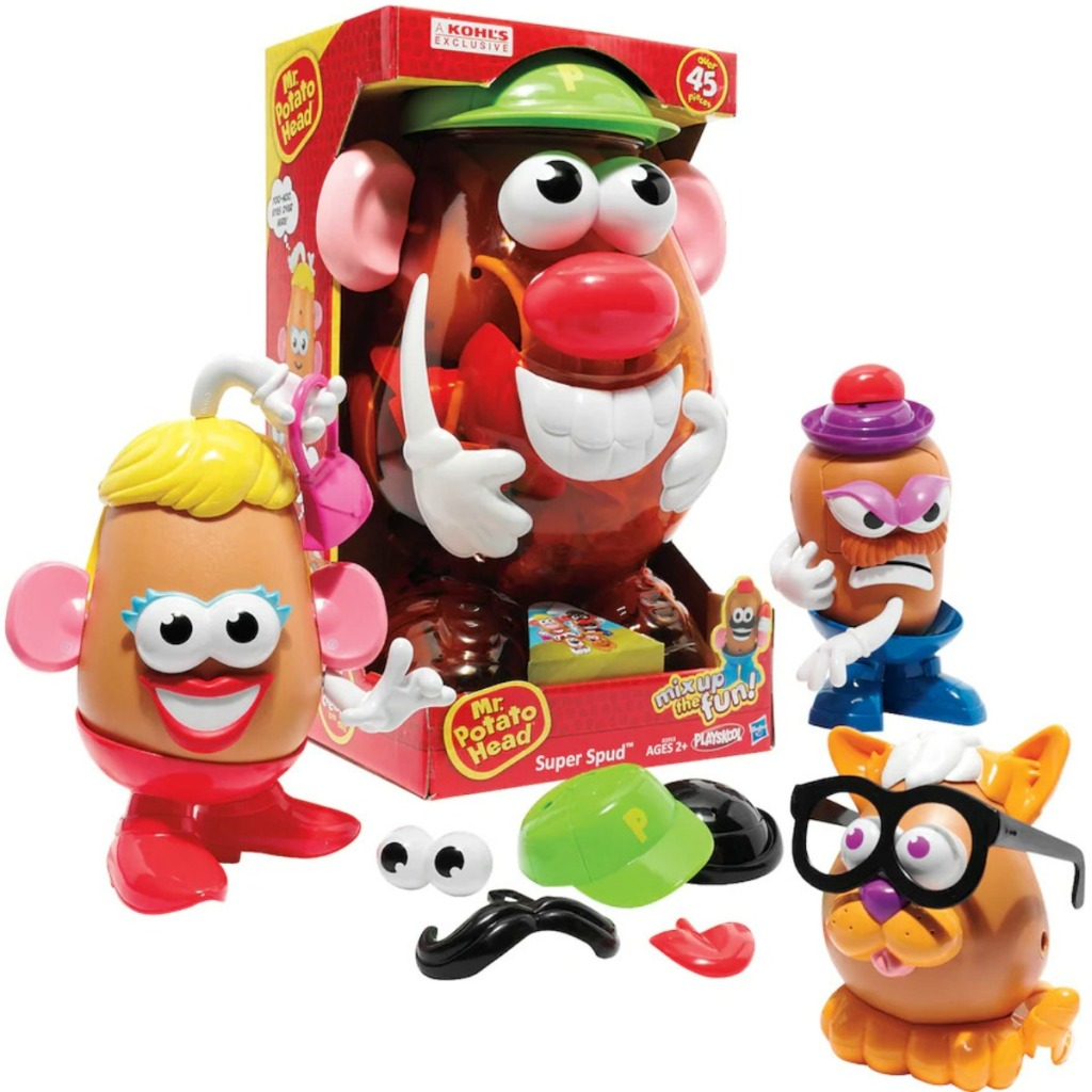 Mr. Potato Head Super Spud Set with pieces