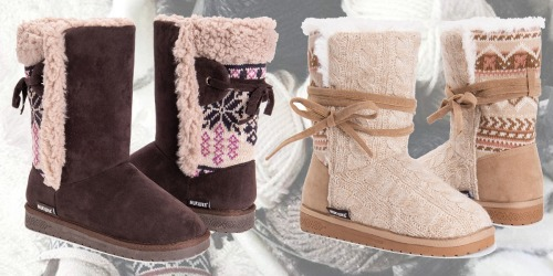Muk Luks Cozy Boots Only $19.99 at Zulily (Regularly $65)