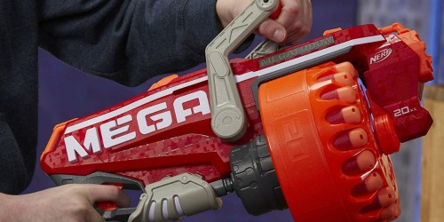 NERF Megalodon Blaster Gun & 20 Darts Just $23.99 on BestBuy.com (Regularly $40)