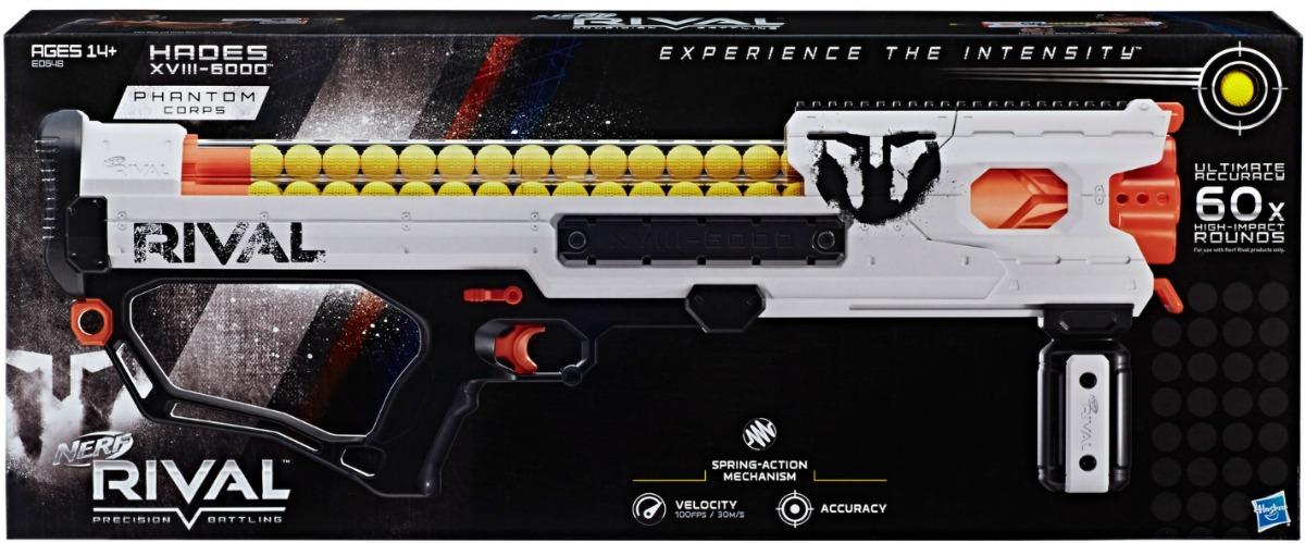 Nerf Rival Phantom Corps Hades XVIII-6000 in package