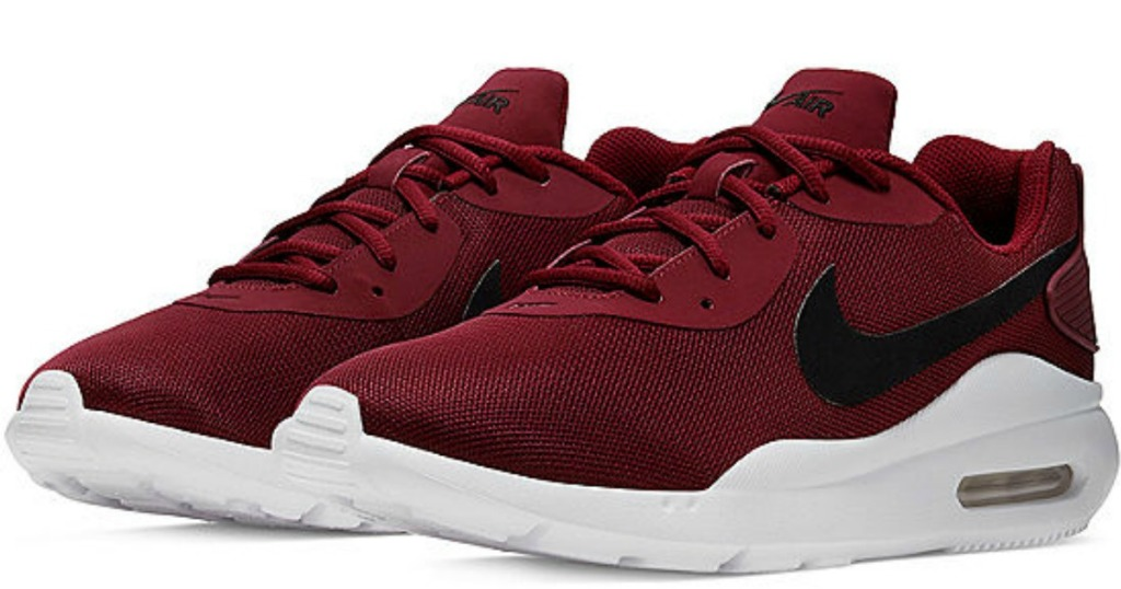 maroon Nike Air Max Oketo Men's Running Shoes