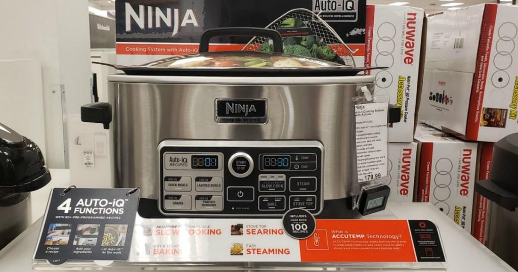 Ninja 4-in-1 Cooking system on display in Kohl's