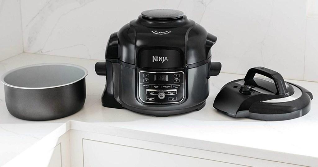 Ninja Foodi on kitchen counter