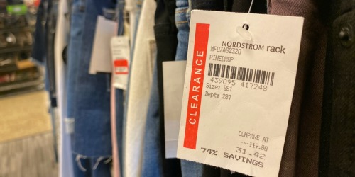 Nordstrom Rack Clear the Rack Sale = Huge Savings on Clearance (Over 70% Off Apparel & Shoes!)