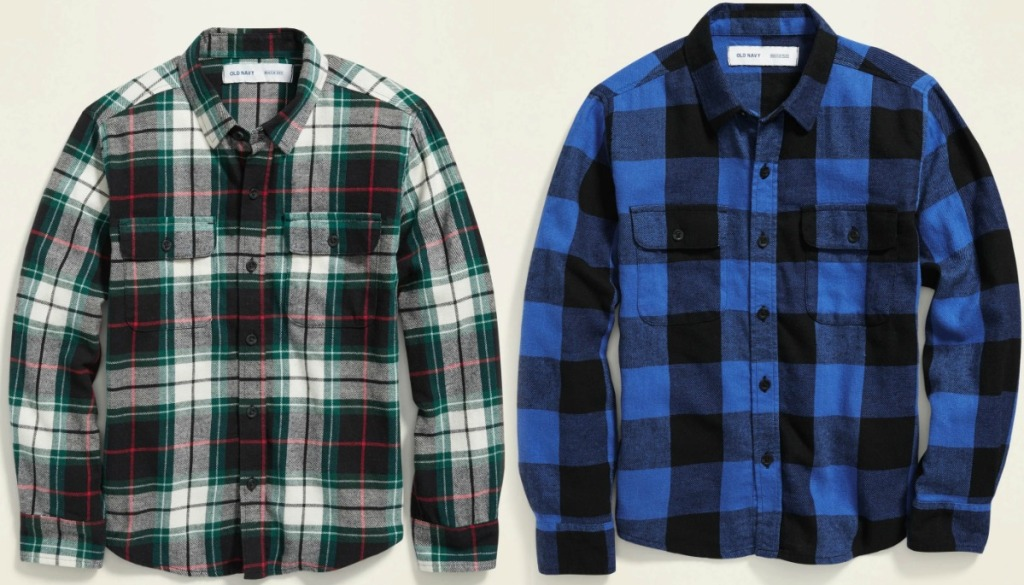 Old Navy Boys Flannel Shirts