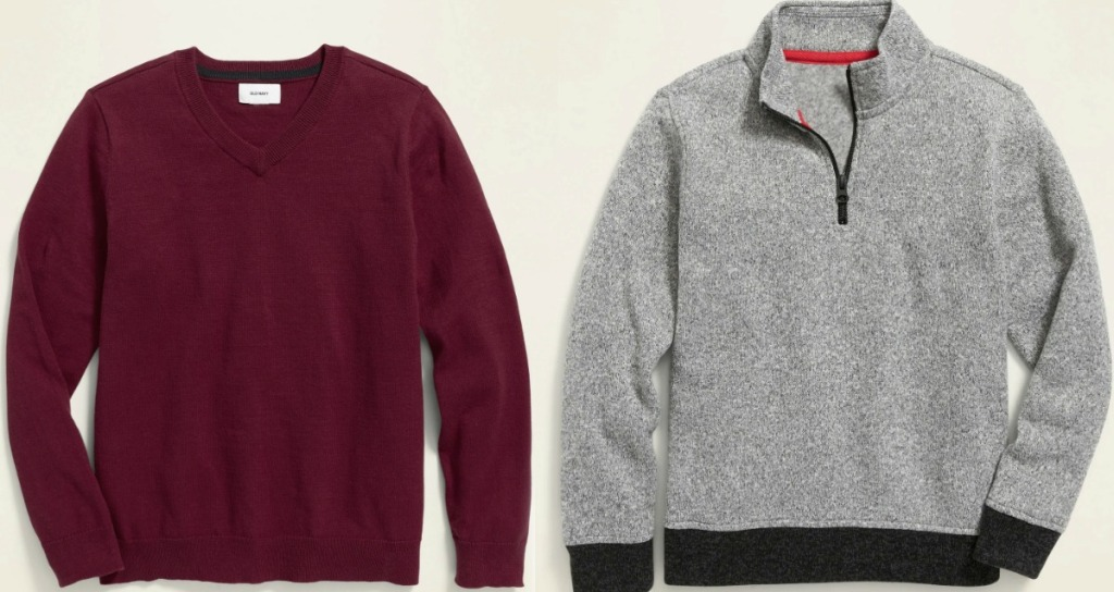 Old Navy Boys Sweaters in two styles