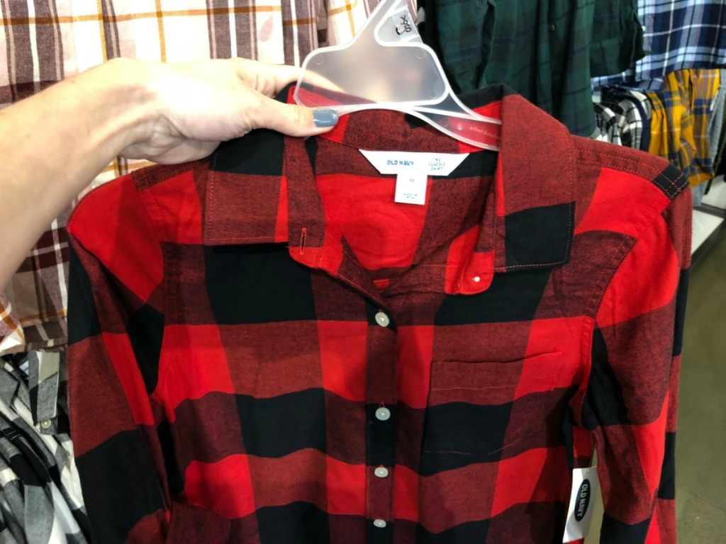 Old Navy Flannel Shirt in Women's