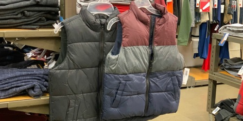 50% Off Winter Apparel for the Entire Family | Puffer Vests, Jeans, & Sweaters