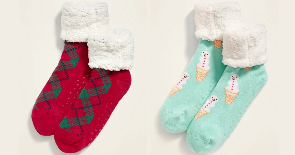 Old Navy Sherpa Socks for Women