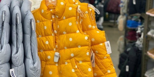 Old Navy Frost-Free Vests Only $10 – $12 (Regularly $40) | Styles for the Entire Family
