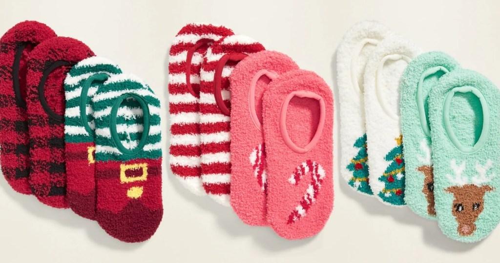 Old Navy women's cozy gripper socks