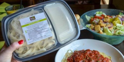Buy 2 Adult Dinner Entrées, Take Home 2 Entrées FREE at Olive Garden (+ $1 Kids Meal Offer)