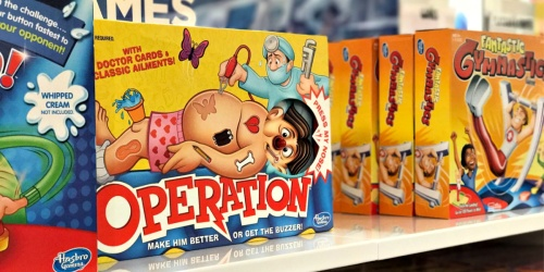 Up to 55% Off Hasbro Games | Operation, Yahtzee & More
