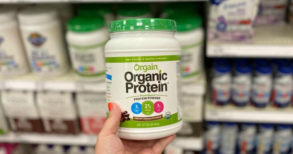 Orgain Organic Powder at Target