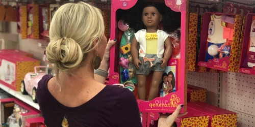 Our Generation Dolls Only $14.99 on Target (Regularly $30) + 50% Off Playsets & Accessories
