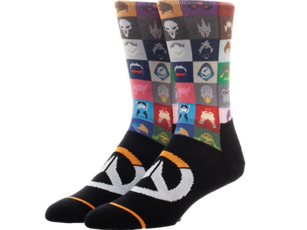 Overwatch Icons Logo Socks
